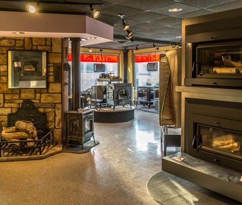 Fireplace Design Showroom