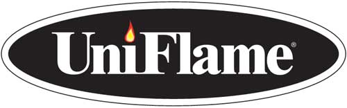 uni flame fireplace accessories