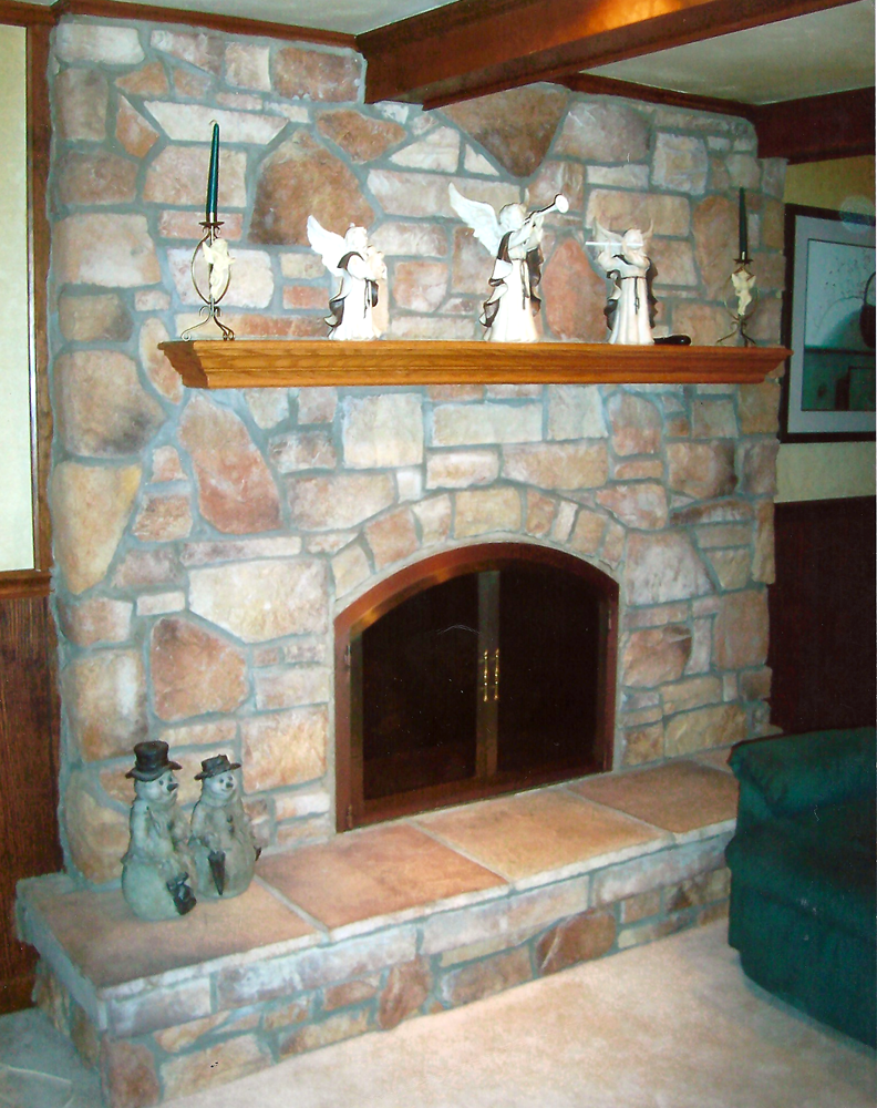 fireplace door - Glass Fireplace Doors