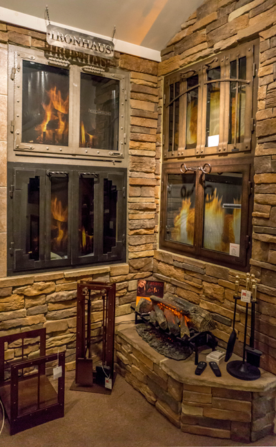 Fireplace Design Showroom