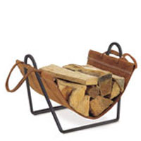 Fireplace accessories wood holder